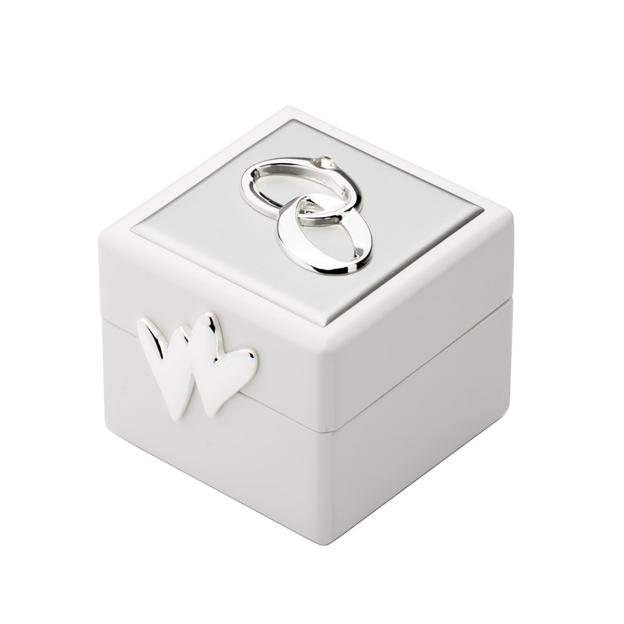 Boîte pour alliances