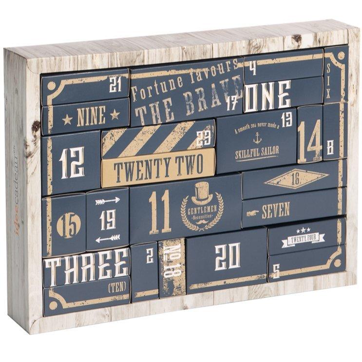 calendrier de l 39 avent pour homme d 39. Black Bedroom Furniture Sets. Home Design Ideas