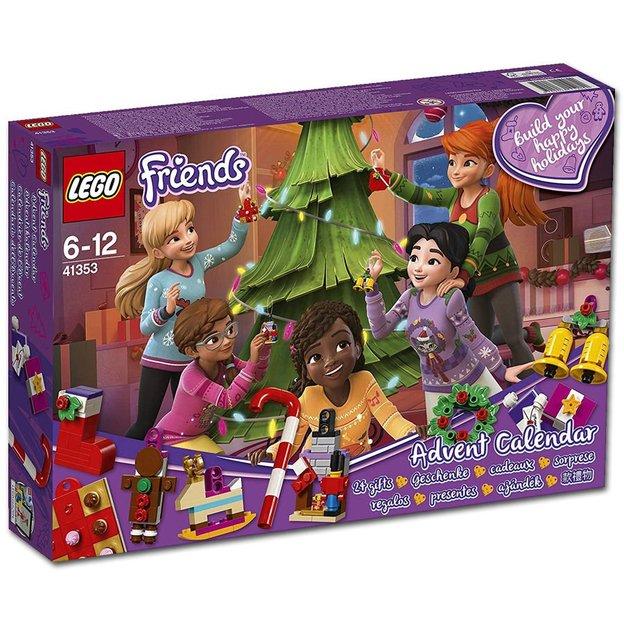 LEGO Friends Adventskalender mit Weihnachtsschmuck
