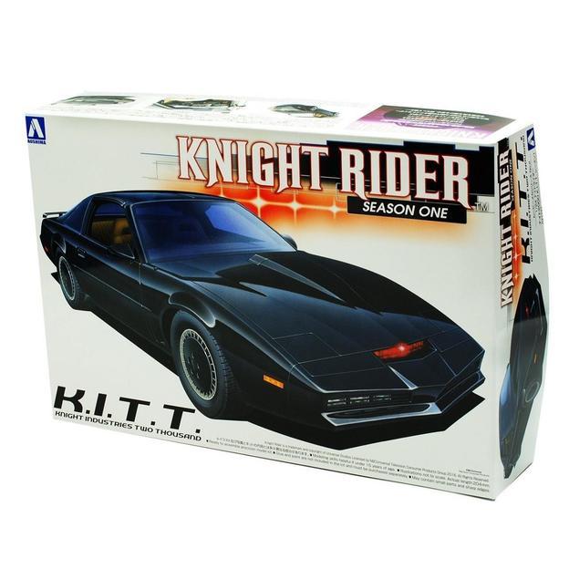 Maquette Pontiac Knight Rider KITT 1:24