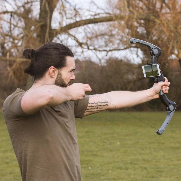 Arc Bluetooth pour smartphones «Virtual Archer»
