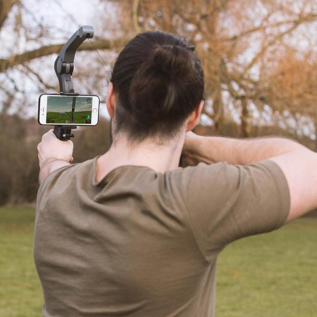 """Bluetooth Bogen für Smartphones """"Virtual Archer"""""""