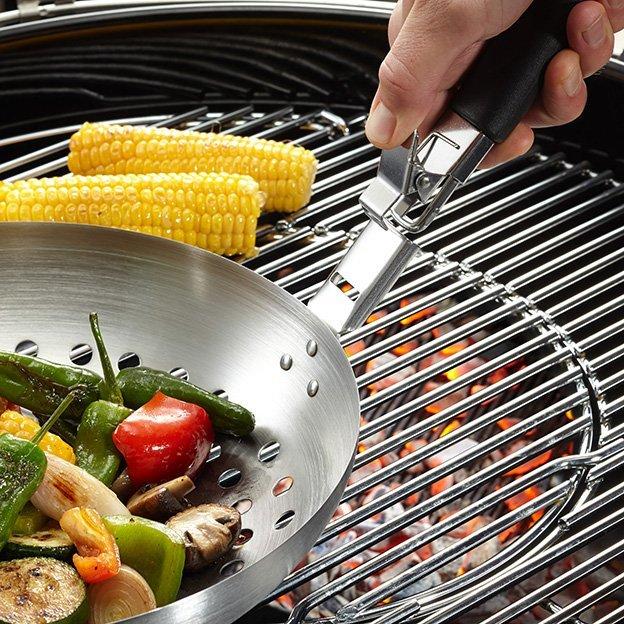 Wok BBQ pour légumes
