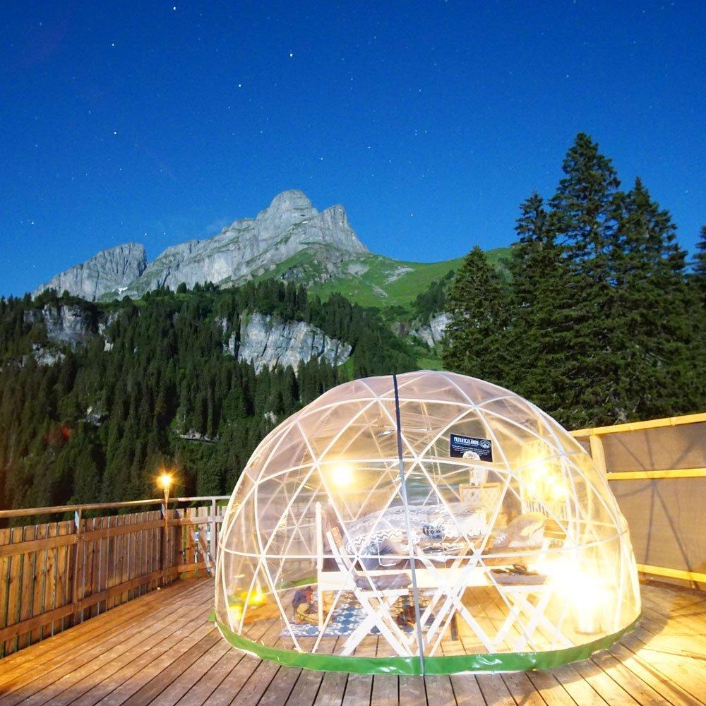 Übernachtung 5 Billionen Sterne Panorama Suite