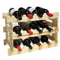 Weinrack aus Holz