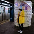 Parapluie holographique – adulte