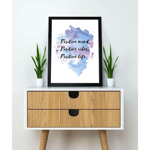 Kunstdruck Positive Mind Positive Vibes