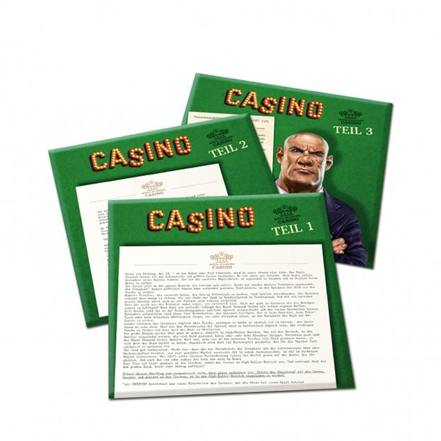 Escape Room Casino - Erweiterung