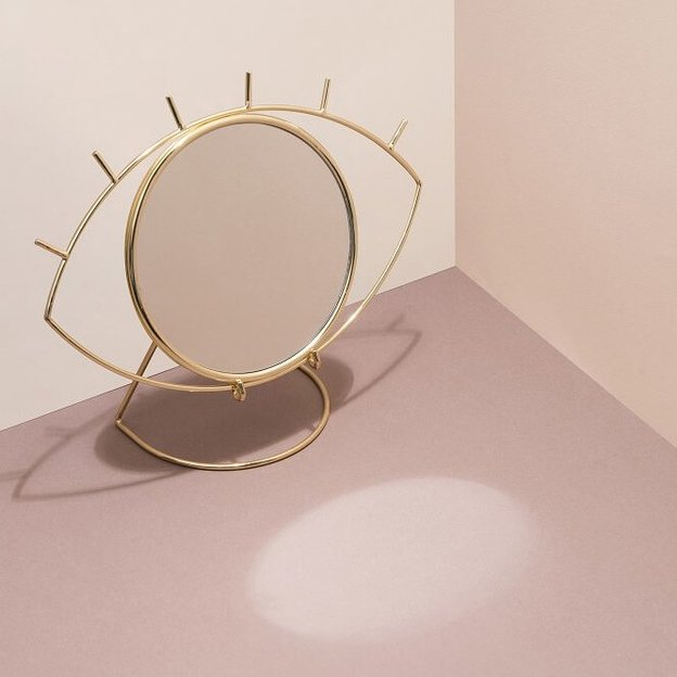 Tischspiegel Auge