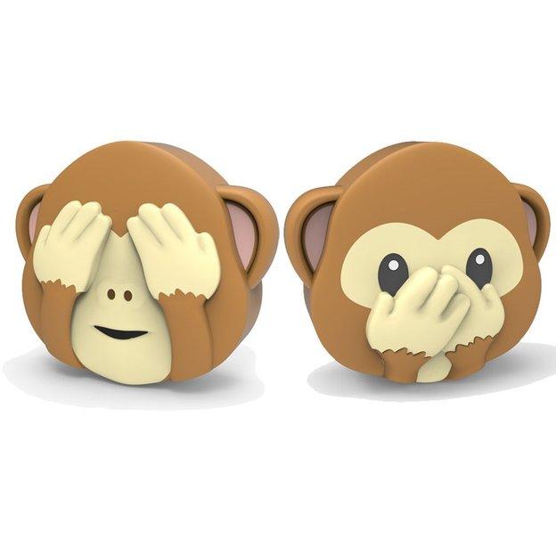 Emoji Batterie externe Singe double-face