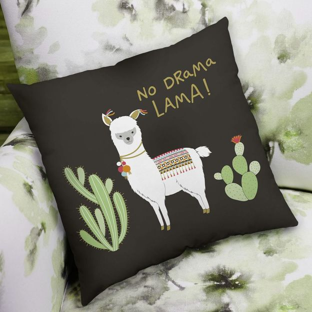 Coussin No Drama Lama