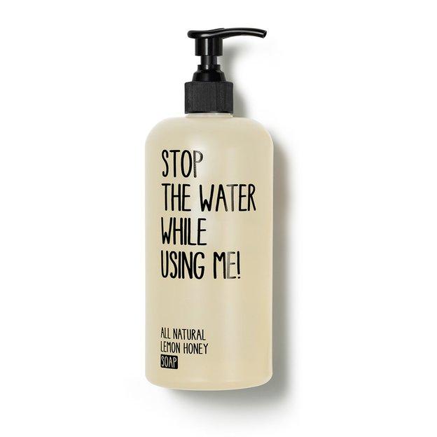 Savon Lemon Honey STOP THE WATER WHILE USING ME