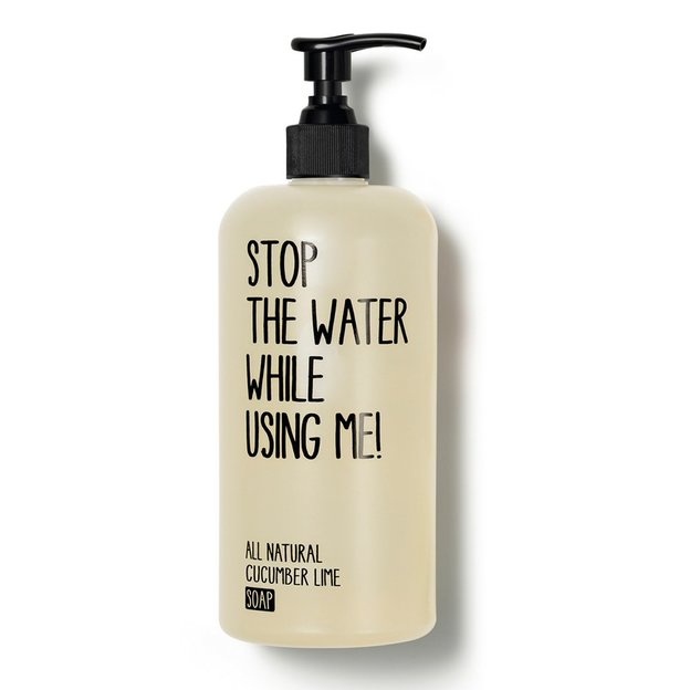 STOP THE WATER WHILE USING ME Cucumber Lime Soap