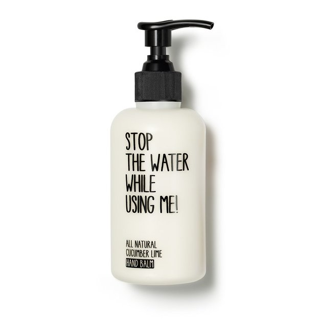 Cucumber Lime Hand Balm von STOP THE WATER WHILE USING ME