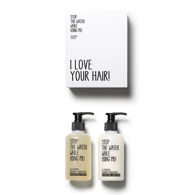 Kit de soin des cheveux Sandalwood de STOP THE WATER WHILE USING ME