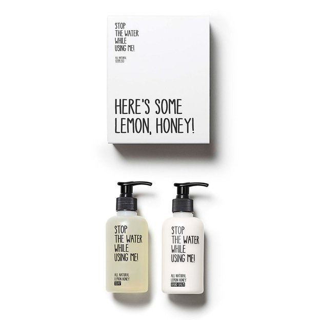 Lemon Honey Hand Kit von STOP THE WATER WHILE USING ME