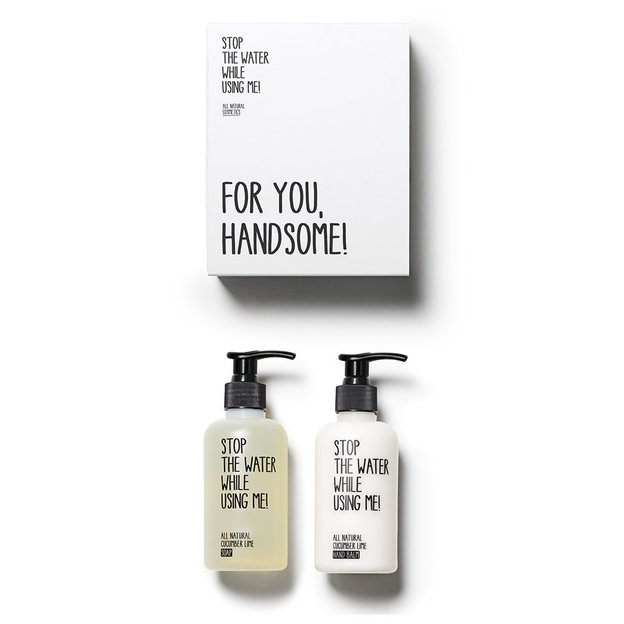 Kit de soin des mains Cucumber Lime STOP THE WATER WHILE USING ME