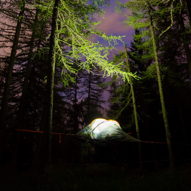 Eine Nacht in den Bäumen (Sonntag - Donnerstag) für 2 Personen im Wallis