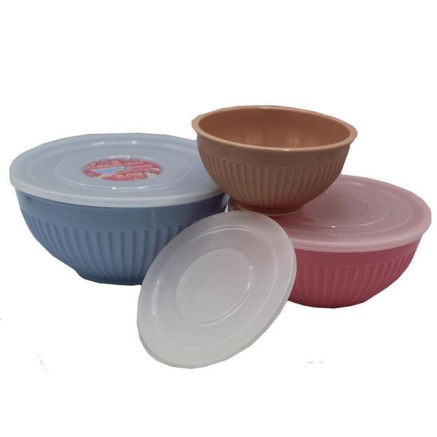 Rice Melamin-Boxen mit Deckel 3er Set