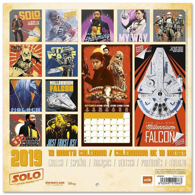 star wars kalender 2019