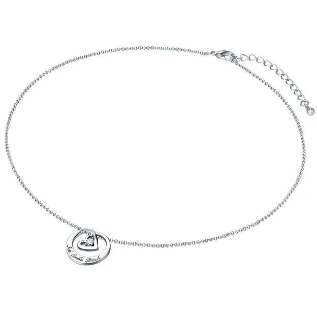 Halskette mit Glaskristall