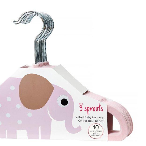 Baby Kleiderbügel 10 Stk. pink