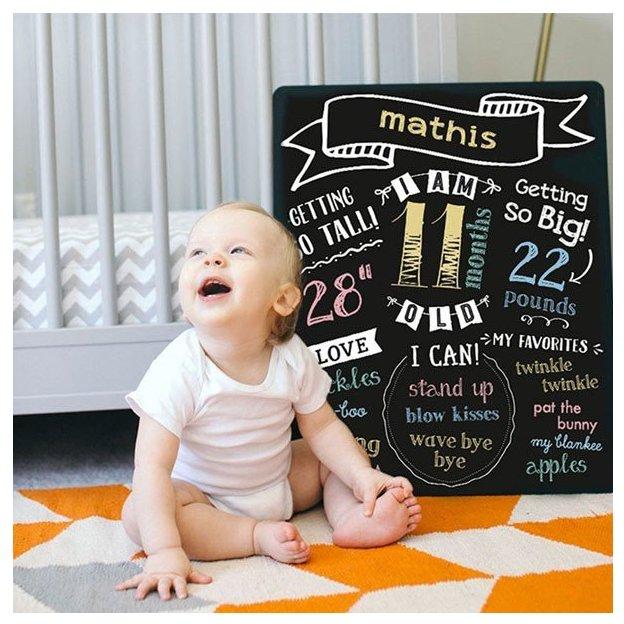 Baby Kreidetafel