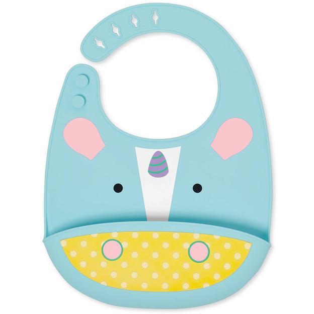Bavoir en silicone pour bébé Licorne