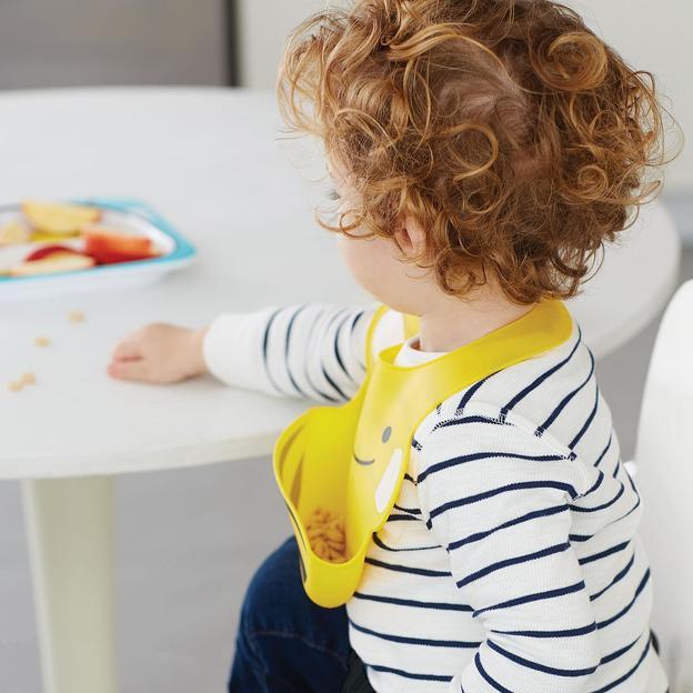 Bavoir en silicone pour bébé – Abeille