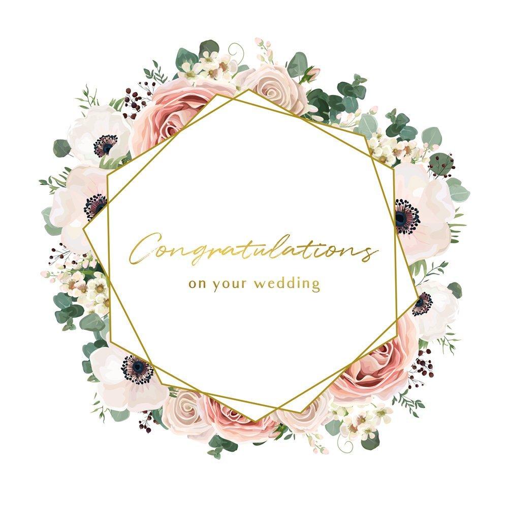 carte de voeux de mariage Carte de vœux Mariage