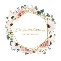 Carte de vœux Mariage