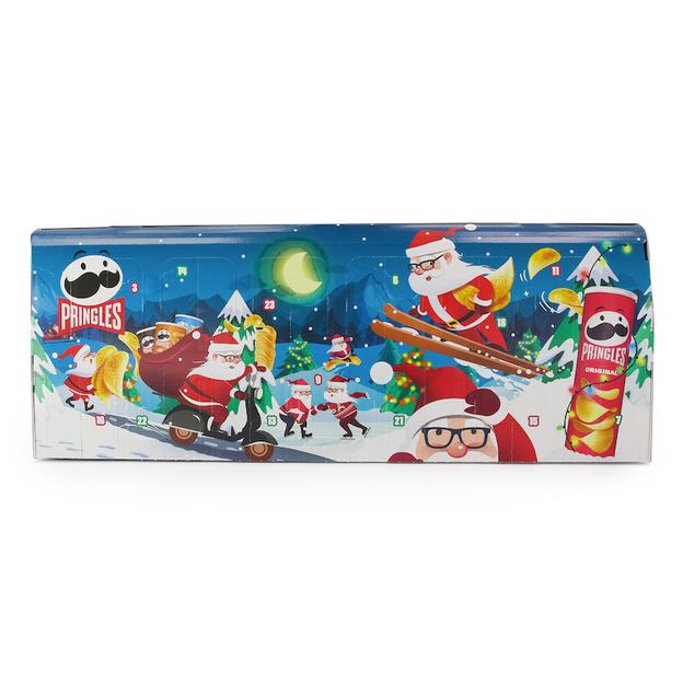 Calendrier de l'avent Pringles