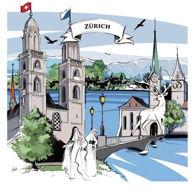 Notizbuch Zürich