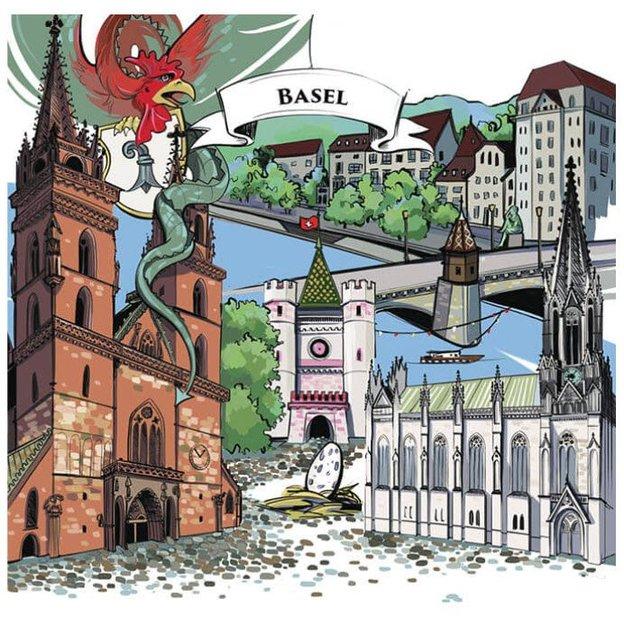 Notizbuch Basel