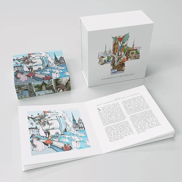 Legendenbox Classic - Erlebe 6 Schweizer Legenden