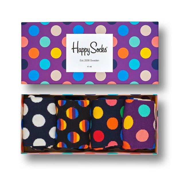 Happy Socks Geschenkbox Dots 36-40