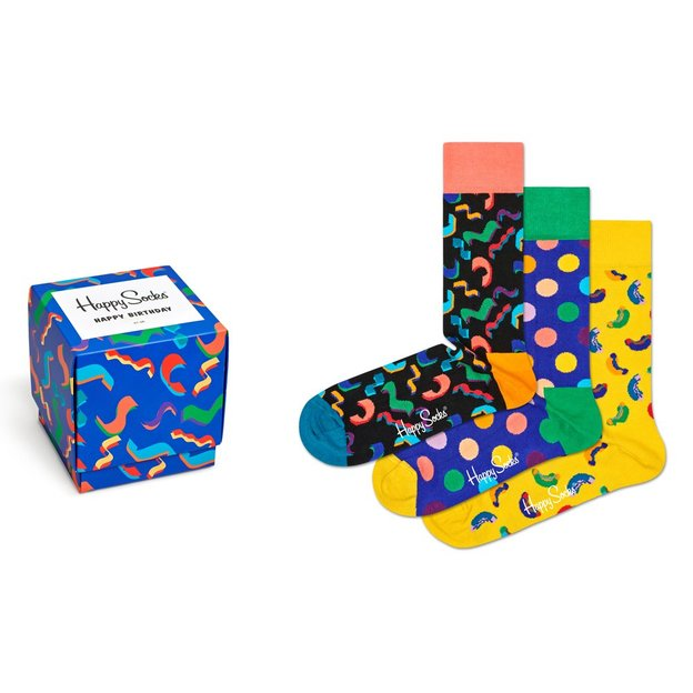Coffret chaussettes Happy Socks Blue Birthday 41-46