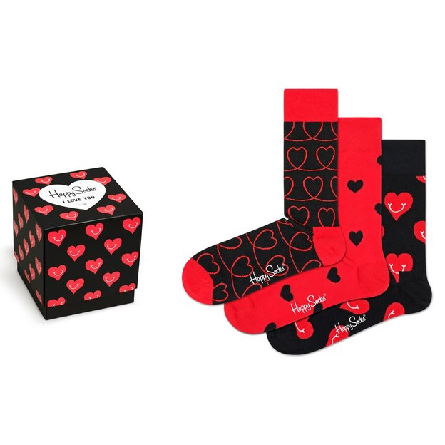 HappySocks Geschenkbox I Love You 36-40