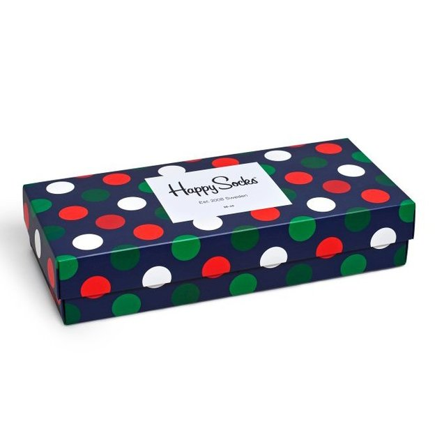 HappySocks Christmas Big Dot Box 36-40