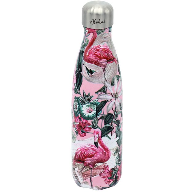 Personalisierbare Trinkflasche Chilly's Bottle, Flamingo Pink 500ml