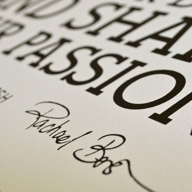 holstee manifesto poster weiss 46x61 i. Black Bedroom Furniture Sets. Home Design Ideas