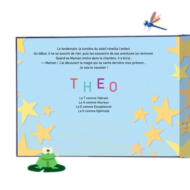 Livre personnalisé pour enfant - La Magie de Mon Nom