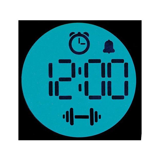 Hantel-Wecker mit LCD Uhr