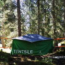 Übernachtung im Baumzelt für 2 Personen im Bergwald