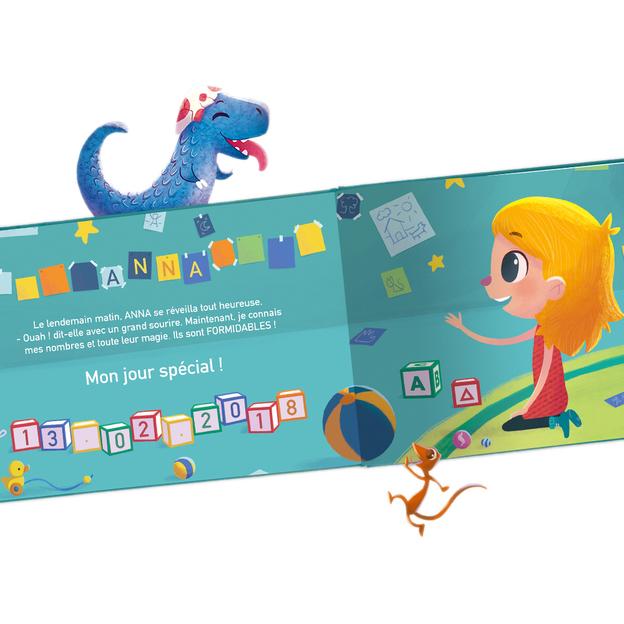 Livre personnalisé pour enfant - Mes nombres magiques