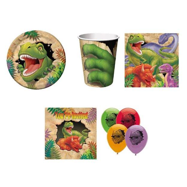 Set de fête Dinosaure, 46 pièces