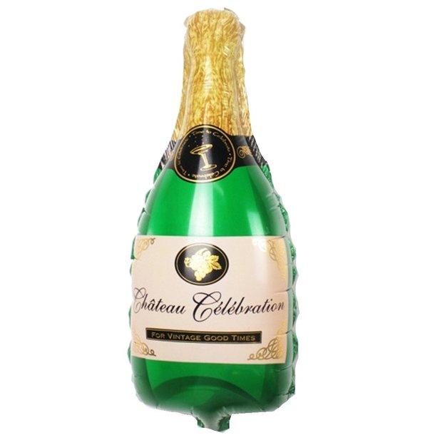 Ballons Bouteille de Champagne & verre 100 cm