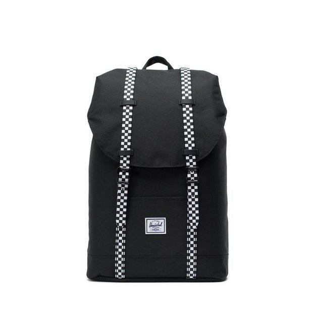 Sac à dos Herschel Retreat Mid-Vol. 14L Black / Checkerboard