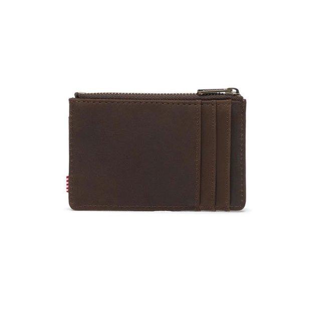 Porte-monnaie Herschel Oscar Nubuck cuir Brown