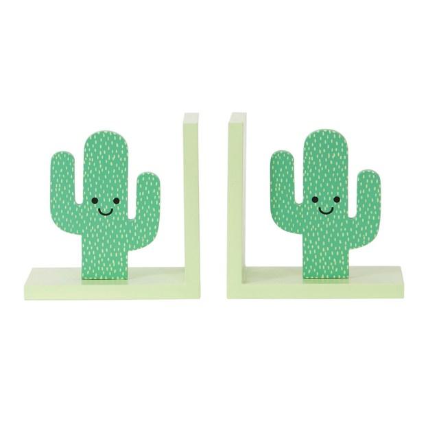 Buchstützen Kaktus